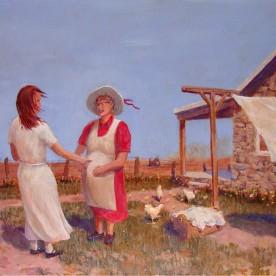Nativity: Mary and Liz