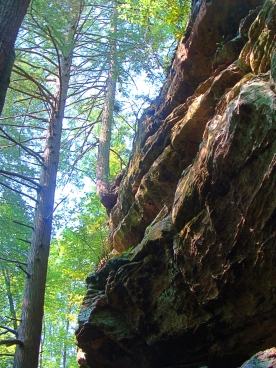Outcropping on Trail