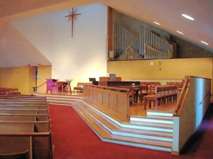 Chancel view