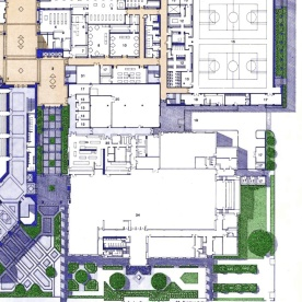 Classroom Wing Floorplan