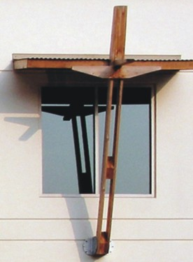Cross window