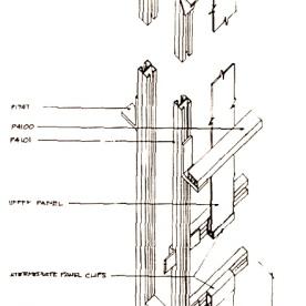 Custom wall drawing