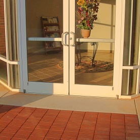 Entry Doors and Pavers