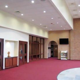Expanded Narthex