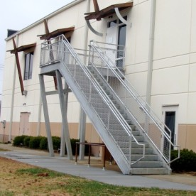New Exterior Stair