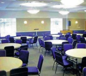 Fellowship Hall w