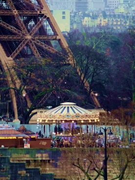 Paris Carousel at Eiffel