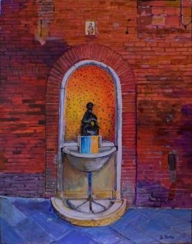 Fountain Della Tartuca, Siena