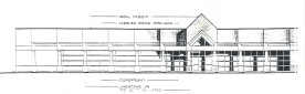 Front elevation study
