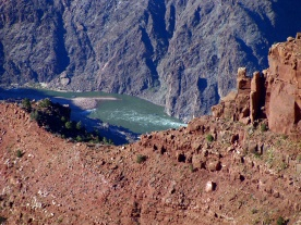 River in the Grand Canyon