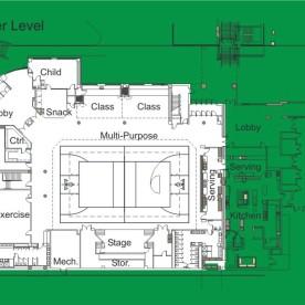 Lower level Plan