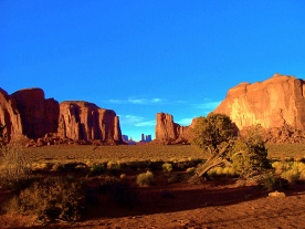 Monument Valley Framed View