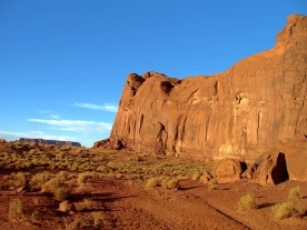 Monument Valley Cliff