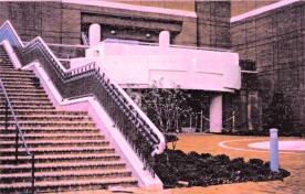 Monumental exterior stair