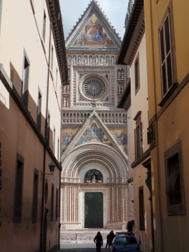 Orvieto: Framed Cathedral Front