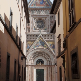 Orvieto Cathedral View