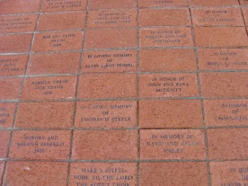 Pavers at Entry