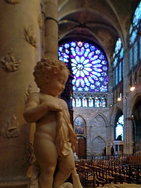 St. Denis Sculpture