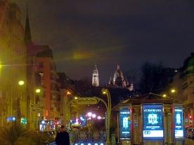 Paris Sacre Tour Skyline