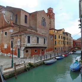 Venice: Canal View