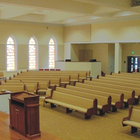 Sanctuary From Chancel to Sound Booth