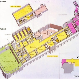 Second and fourth floorplans