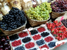 Orvieto: Fruit Display