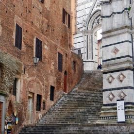 Siena: Stairway