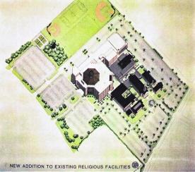 Site axionometric plan