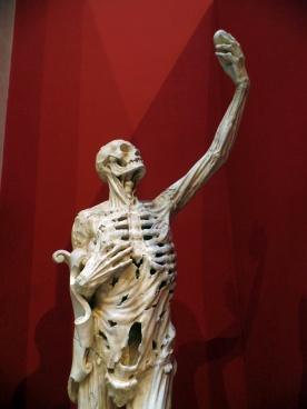 Paris Skeletal Sculpture