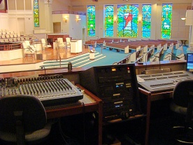 Sound and Light Booth