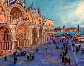 St. Mark's Square VIew, Venice