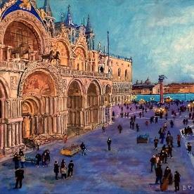St. Mark's Square VIew, Venice
