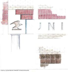 Study of exterior details