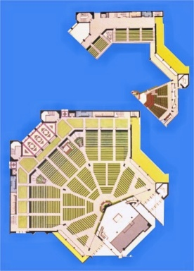 Worship Center floor plans