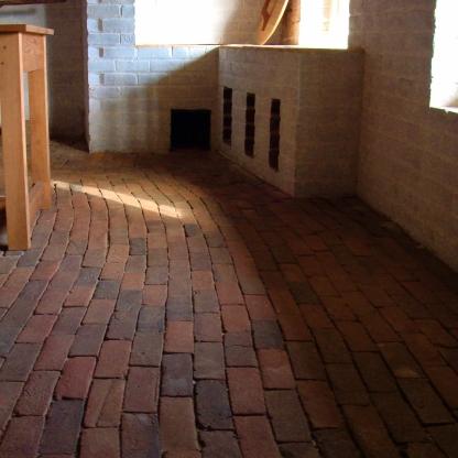 Poplar Forest Brick Floor
