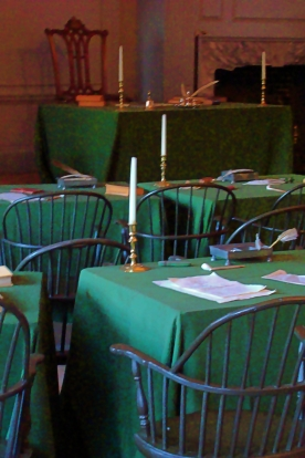Independence Hall Desks