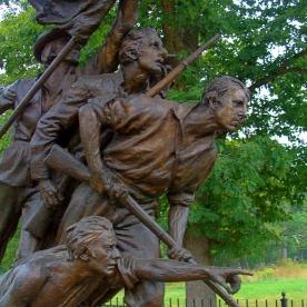 Soldiers at Gettysburg