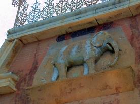 Fredericksburg Elephant Facade