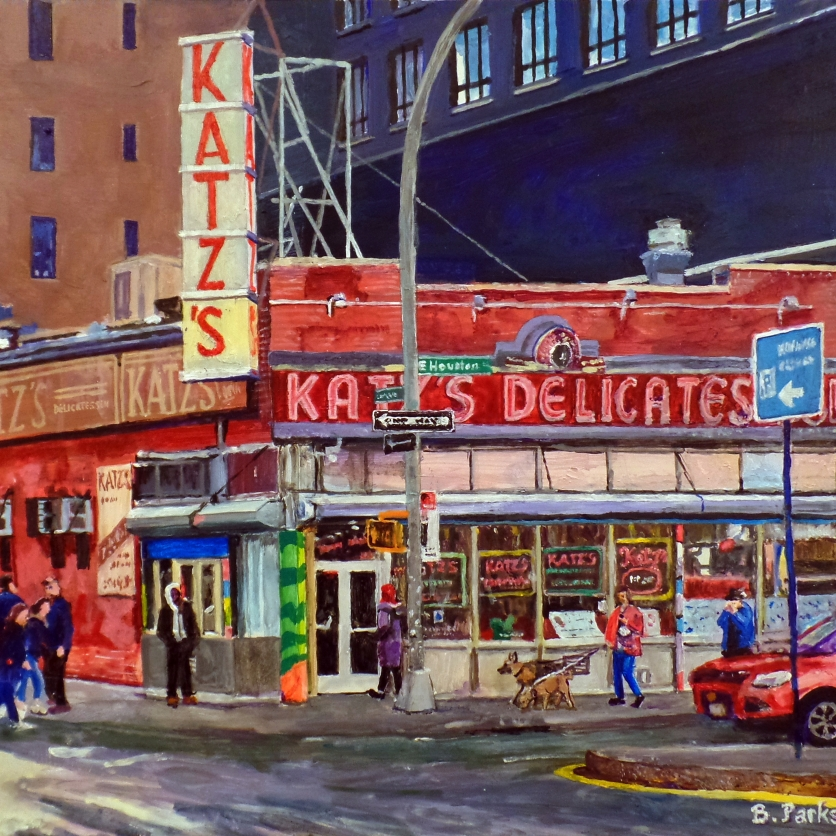 Dogs and Katz's, NYC