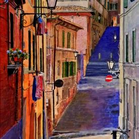 Via Galluzza, Siena