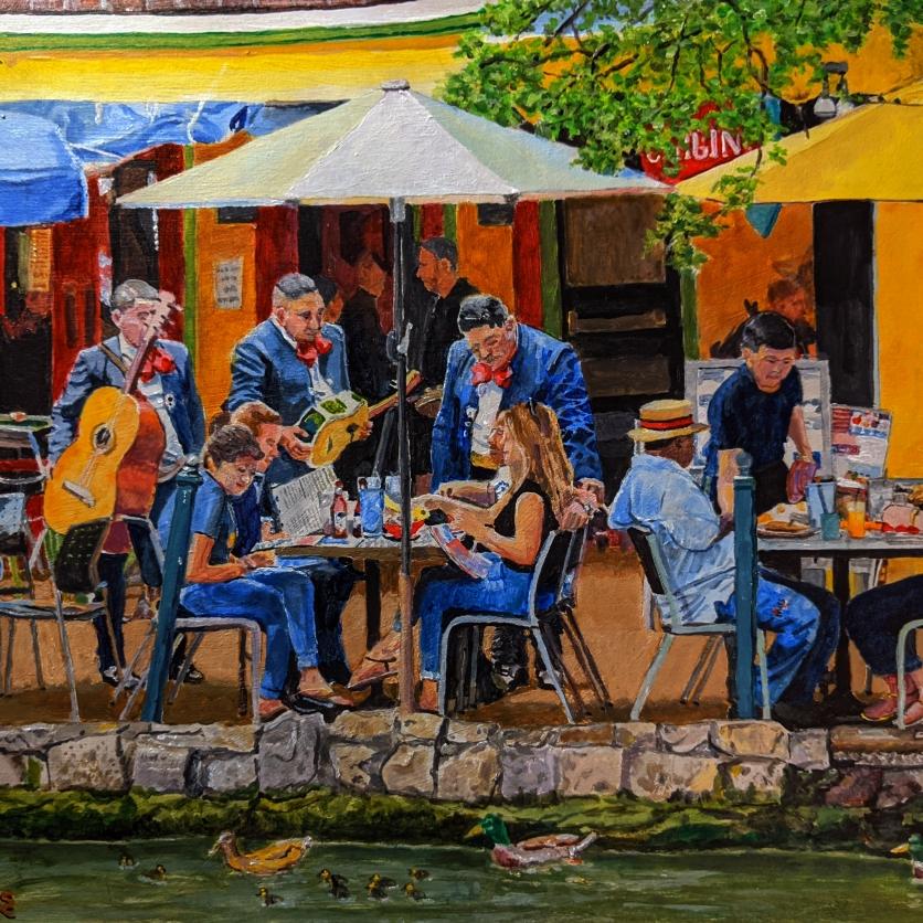 San Antonio Riverwalk Patio